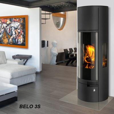Poêle à bois BELO 3S – ROMOTOP