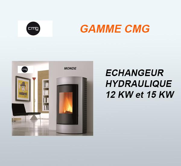 CMG Echangeur hydraulique 12kW et 15kW