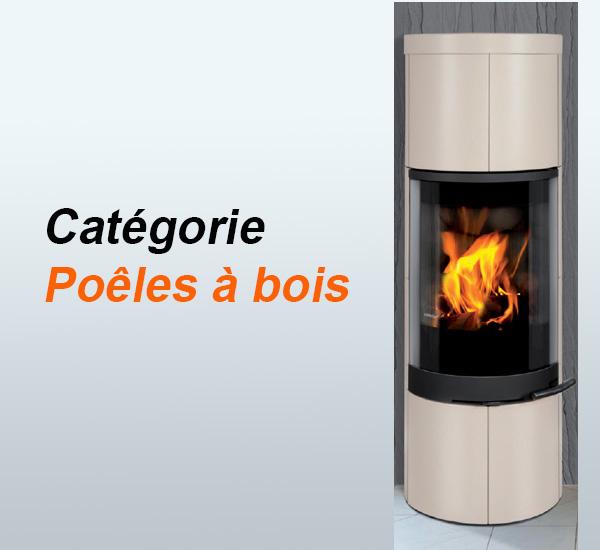 Poêle à bois design vendu par Poêles et Cheminées du Girou, à Lavalette près de Toulouse