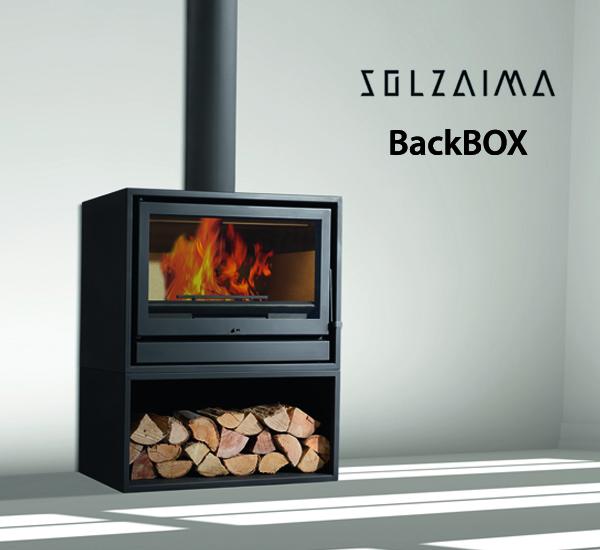 po le bois solzaima mod le backbox poele design toulouse. Black Bedroom Furniture Sets. Home Design Ideas