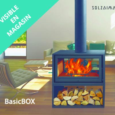 Poêle à bois SOLZAIMA-BASIC BOX