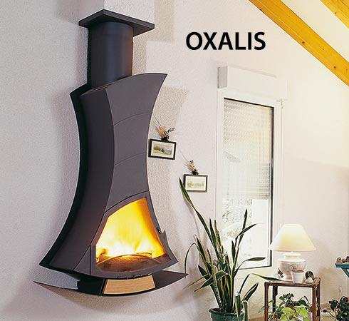 Cheminée de prestige ARKIANE - Modèle OXALIS, vendue par Poêles et Cheminées du Girou, près de Toulouse