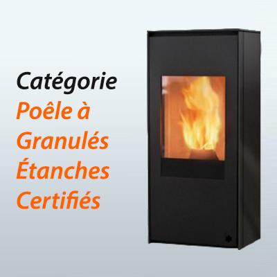 Poêle à granulés certifiés étanches disponibles à Lavalette, près de Toulouse : Poêles et Cheminées du Girou Marques disponibles : ITC, CMG