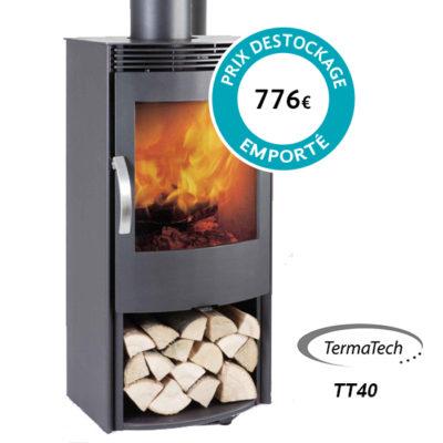 Poêle à bois Termatech – Modèle TT40