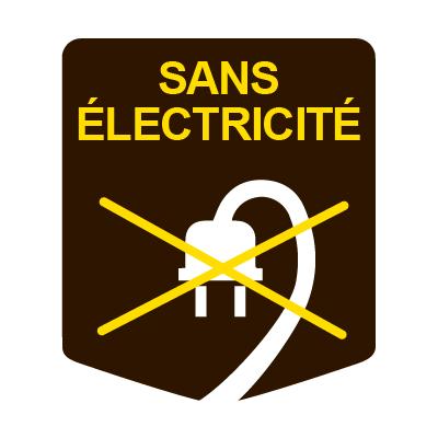 SANS ELECTRICITE